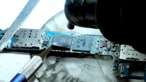 آموزش رایگان ریبال کردن یا پایه سازی آی سی های رم هارد و CPU گوشی موبایل
