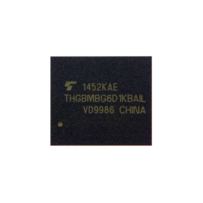 آی سی هارد THGBMBG6D1KBAIL Toshiba اورجینال ظرفیت ۸ گیگابایت