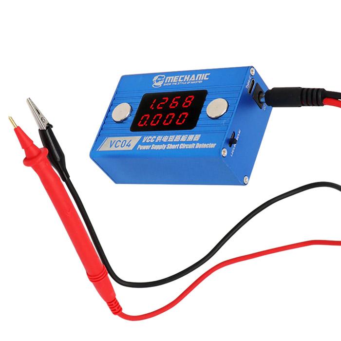 شورت کیلر مکانیک MECHANIC VC04 ابزار شناسایی اتصال کوتاه در تعمیرات گوشی موبایل