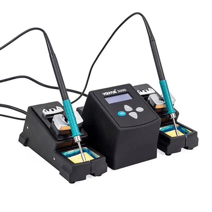هویه دیجیتال دوبل YOUYUE 3600 مناسب تعمیرات قطعات الکترونیکی و گوشی های موبایل
