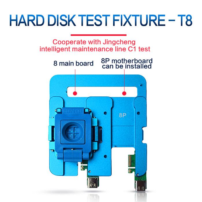 ماژول تستر هارد JC T8 مناسب گوشی های ایفون ۸ و ۸ پلاس