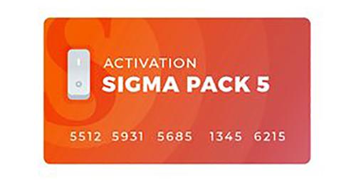 اکتیو پک 5 باکس Sigma