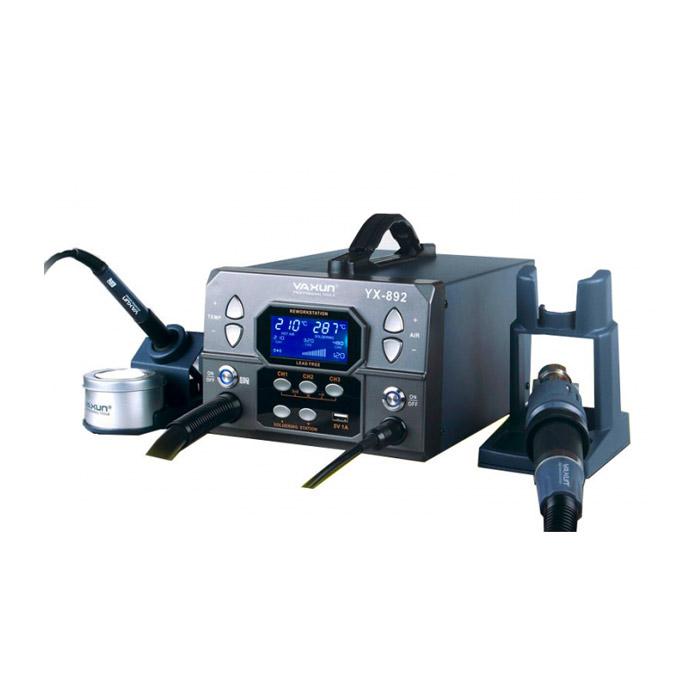 هیتر و هویه دیجیتال یاکسون YAXUN YX-892 مناسب تعمیر و لحیم کاری قطعات الکترونیکی