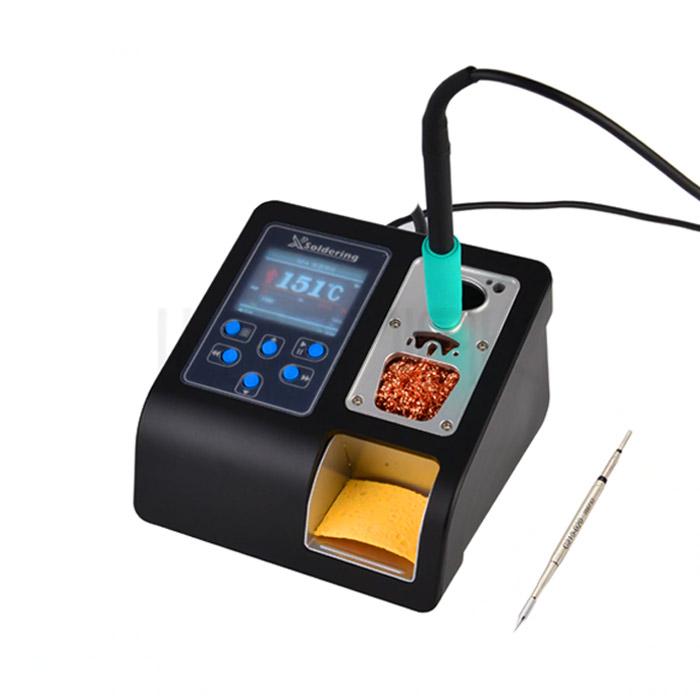 هویه دیجیتال XSOLDERING T210 به همراه یک عدد نوک هویه مناسب تعمیرات گوشی موبایل