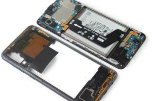 آموزش تعویض و تعمیر ویبره گوشی سامسونگ A70 10