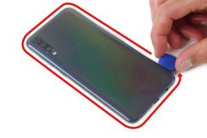 آموزش تعویض و تعمیر ویبره گوشی سامسونگ A70 5
