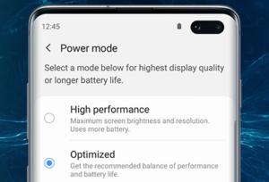 "غیر فعال کردن ""power saving"""