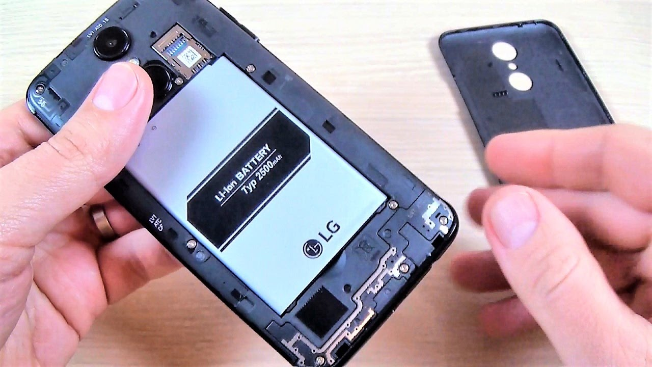 باتری موبایل ال جی