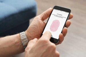 اضافه کردن الگوی های اثر انگشت برای Touch ID