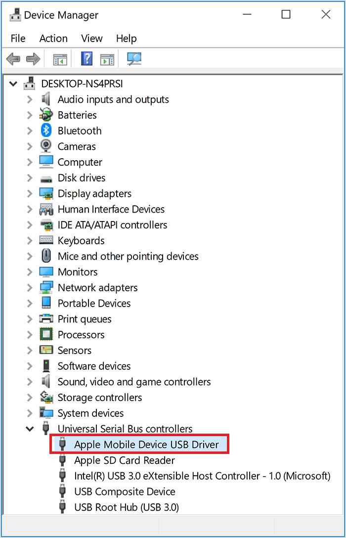 مشکل اتصال آیفون به کامپیوتر