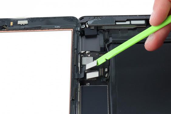 تعمیر اسپیکر سمت چپ آیپاد7_11