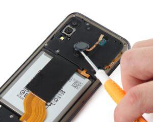 آموزش تعمیرات موبایل سامسونگ گلکسی A40 13