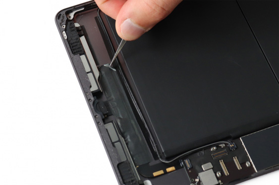 تعمیر اسپیکر سمت چپ آیپاد7_21