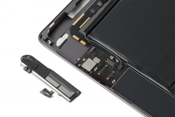 تعمیر اسپیکر سمت چپ آیپاد7_24