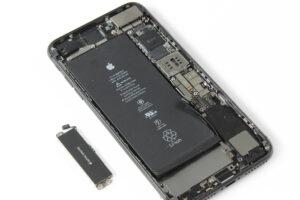 تعمیر ویبراتور گوشی آیفون 8 پلاس27