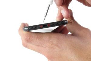 تعمیر ویبراتور گوشی آیفون 8 پلاس2