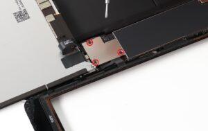آموزش تعویض دوربین جلو آیپاد 7