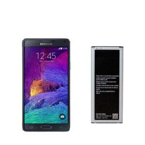 باتری اصلی گوشی سامسونگ مدل Galaxy Note 4 Duos