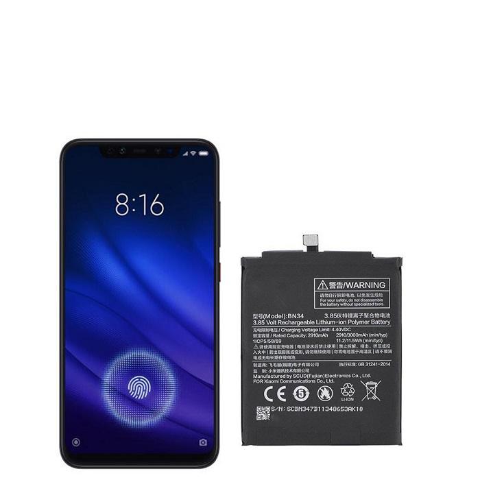 باتری گوشی شیائومی Mi 8 Pro – BN34