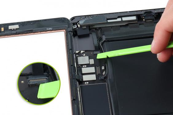 تعمیر اسپیکر سمت چپ آیپاد7_10
