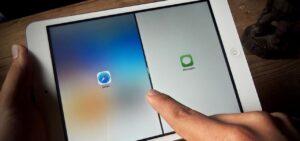 اجرای همزمان دو نرم افزار در آیپد