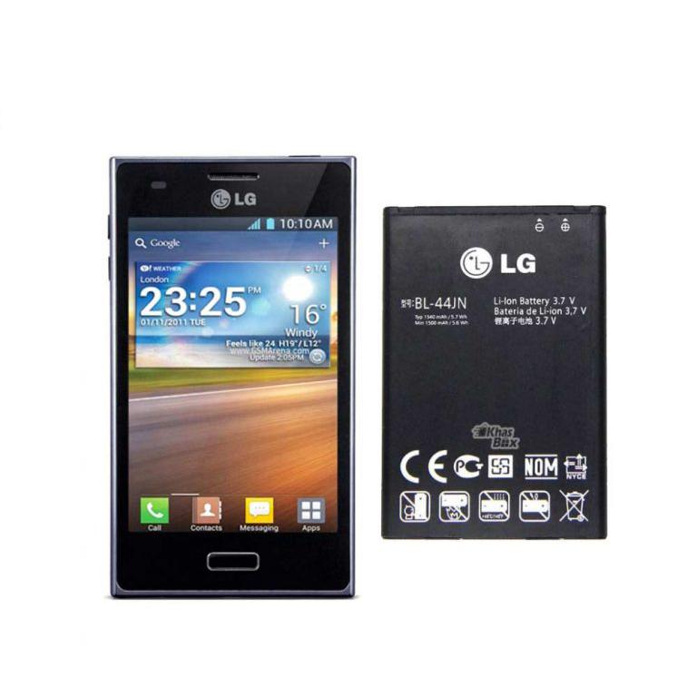 باتری گوشی ال جی Optimus L7- P700