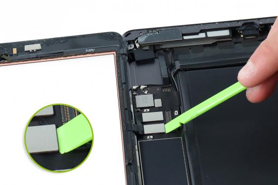 تعمیر اسپیکر سمت راست آیپاد7_11