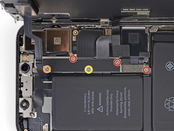 تعویض باتری آیفون X - مرحله 14