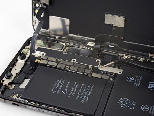 تعویض باتری آیفون X - مرحله 15