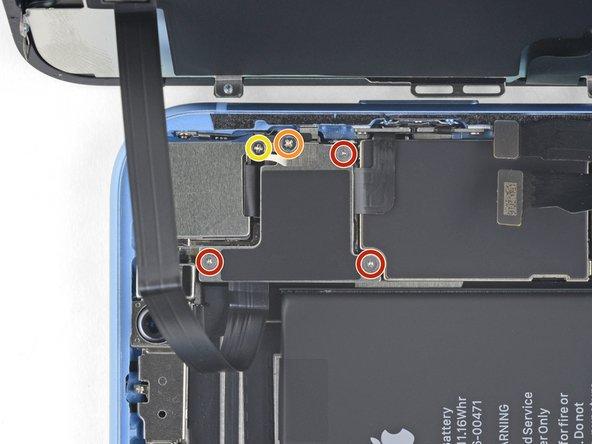 تعویض باتری آیفون XR - مرحله 17