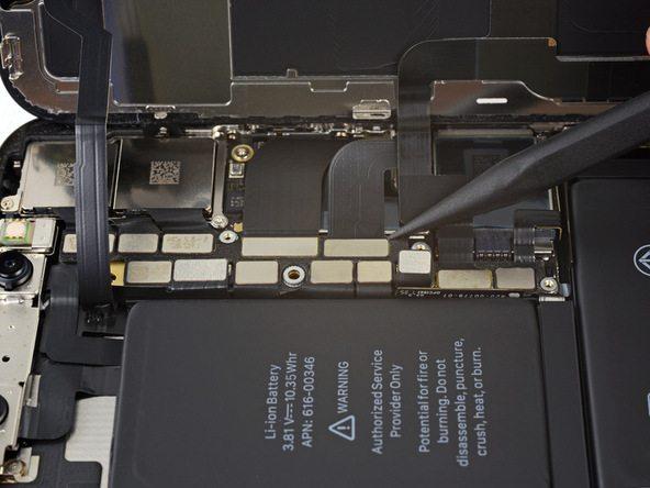 تعویض باتری آیفون X - مرحله 18