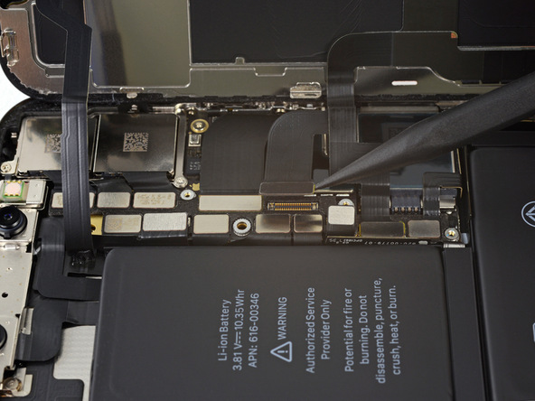 تعویض باتری آیفون X - مرحله 18.1