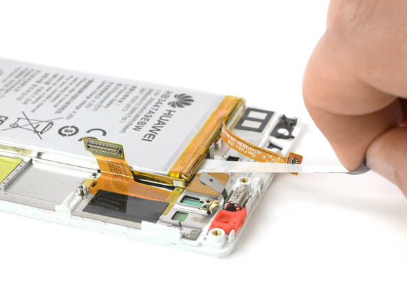 تعویض باتری هواوی P8 - مرحله19.1