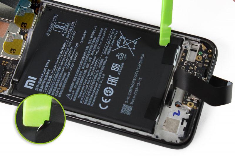 آموزش تعویض باتری ردمی نوت 7 - مرحله 17