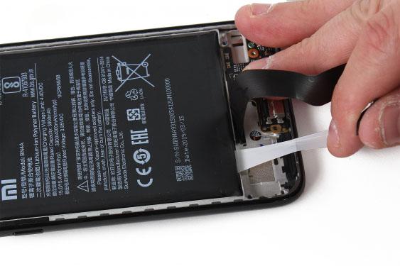 آموزش تعویض باتری ردمی نوت 7 - مرحله 17.2