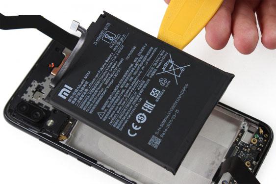 آموزش تعویض باتری ردمی نوت 7 - مرحله 18.1