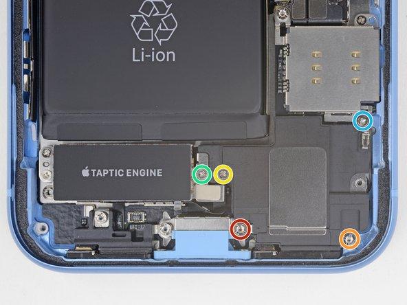 تعویض باتری آیفون XR - مرحله 24
