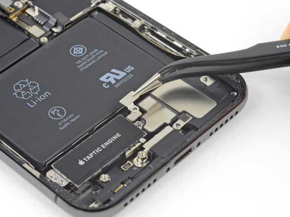 تعویض باتری آیفون X - مرحله 25.1