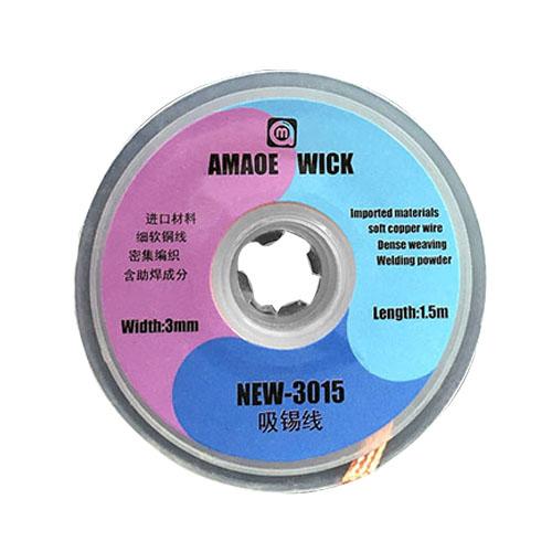سیم قلع کش AMAOE WICK New مناسب جدا کردن قلع از برد گوشی های موبایل