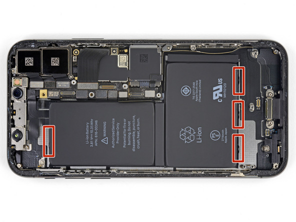 تعویض باتری آیفون X - مرحله 32