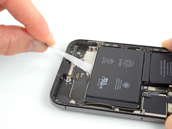 تعویض باتری آیفون X - مرحله 37.1