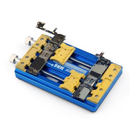 گیره برد یونیورسال Mechanic Mr6 pro مناسب برای نگهداشتن انواع بردهای گوشی موبایل