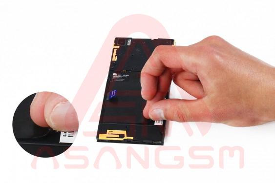 آموزش تعویض باتری Mi 3 - مرحله 7