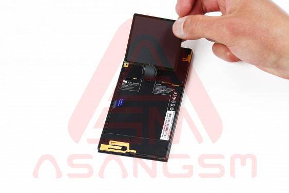 آموزش تعویض باتری Mi 3 - مرحله 7.1