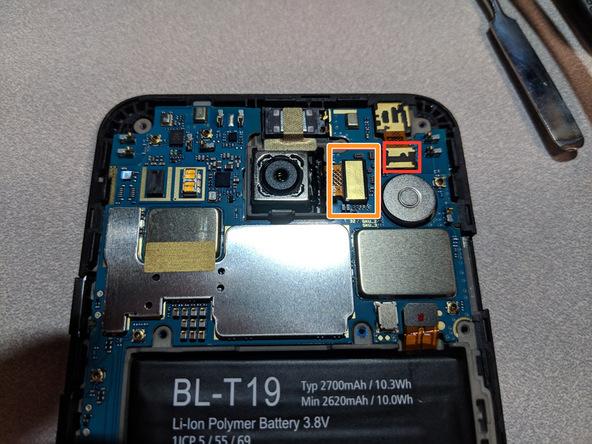 تعویض تاچ ال سی دی Nexus 5X - مرحله 5