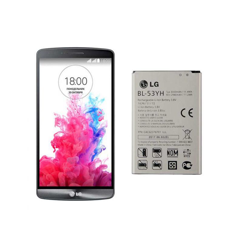 باتری گوشی ال جی LG G3 Dual LTE – BL-53YH