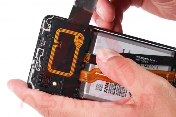 آموزش تعویض فلت شارژ a10 مرحله91