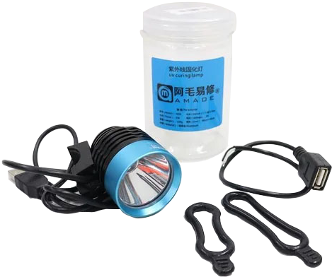 لامپ Amaoe m39 uv جهت خشک کردن چسب عایق برد uv