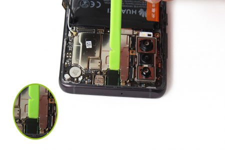تعویض اسپیکر داخلی Huawei P30