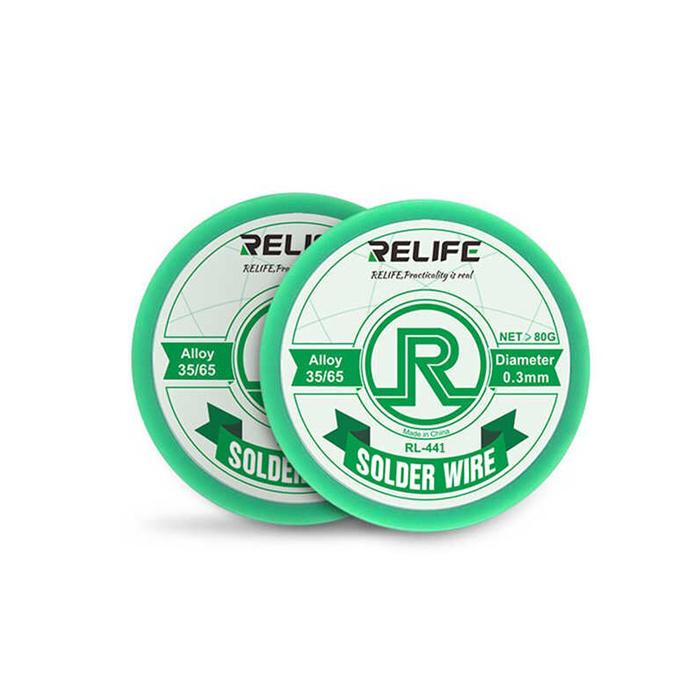 سیم لحیم 0.3 ریلایف RELIFE RL-441 مناسب تعمیرات برد گوشی موبایل